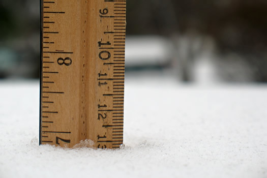 snowfall measure