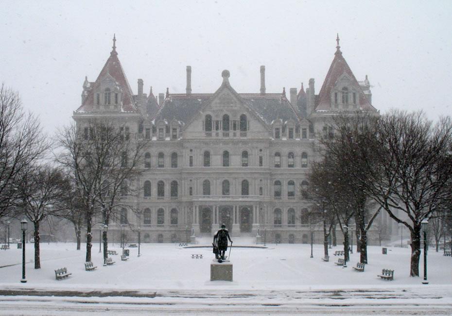 snowstorm 2015-01-27 capitol after
