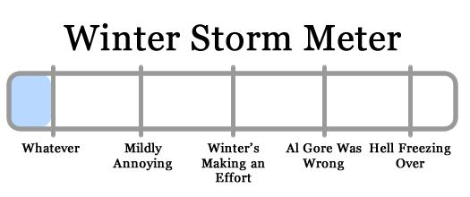 snowy apocalypse meter