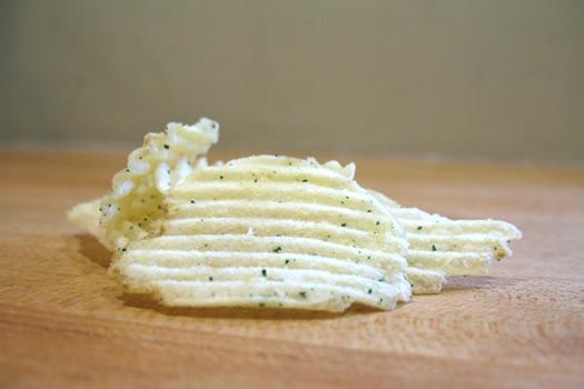 sour cream and onion potato chip