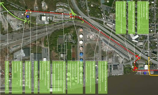 south end bikeway proposal diagram clip