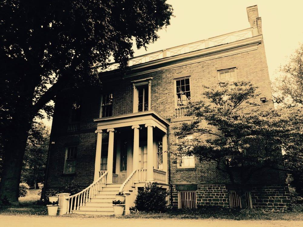 spooky Ten Broeck Mansion