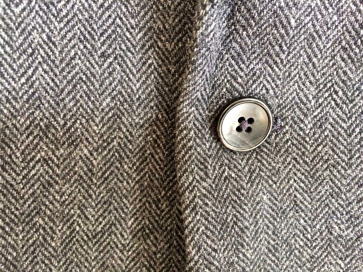 sport jacket button detail closeup