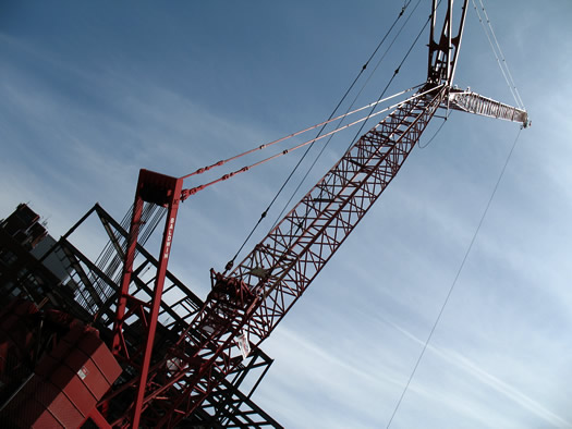 st peters crane closeup