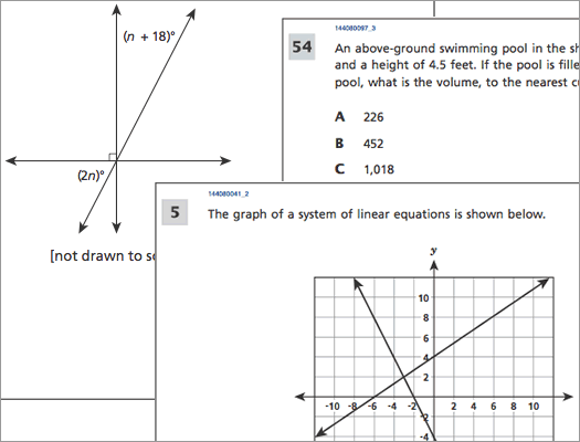 state 8th grade math 2015 questions composite