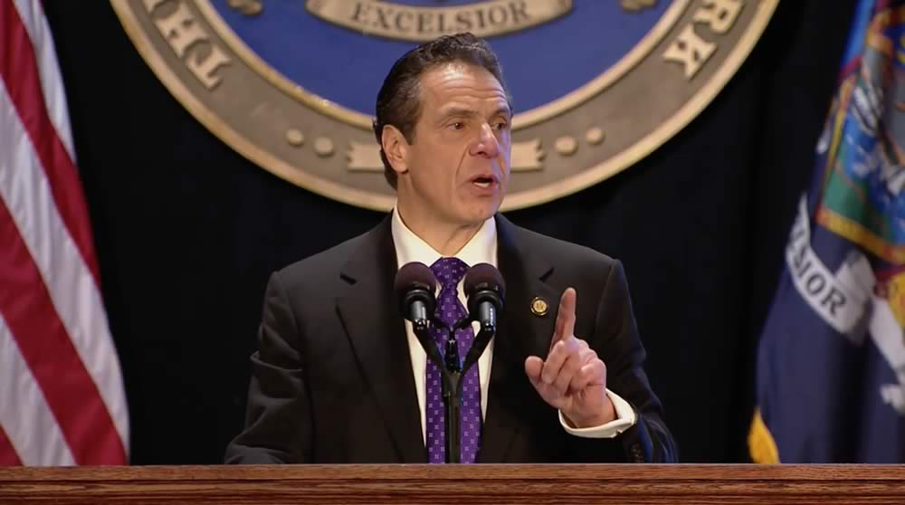 state of state 2018 Andrew Cuomo