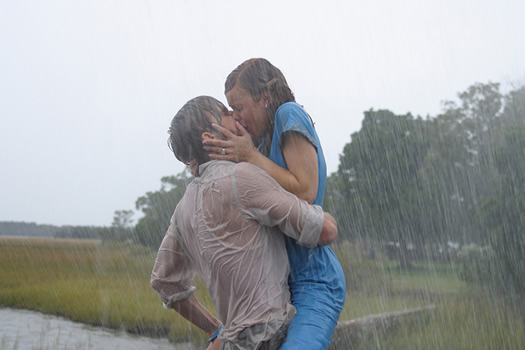 still from The Notebook