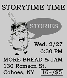 storytime time poster