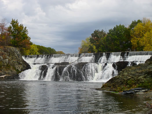 stuyvesant falls waterfall