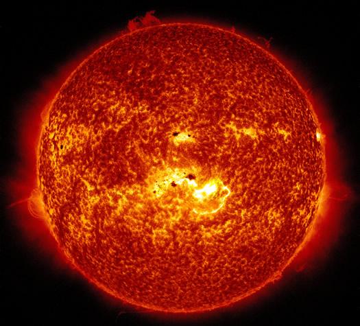 sun flare 2014-01-07 nasa sdo