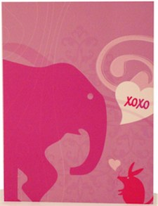 susan merrick elephant card