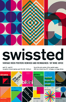 swissted poster mike joyce at arts center