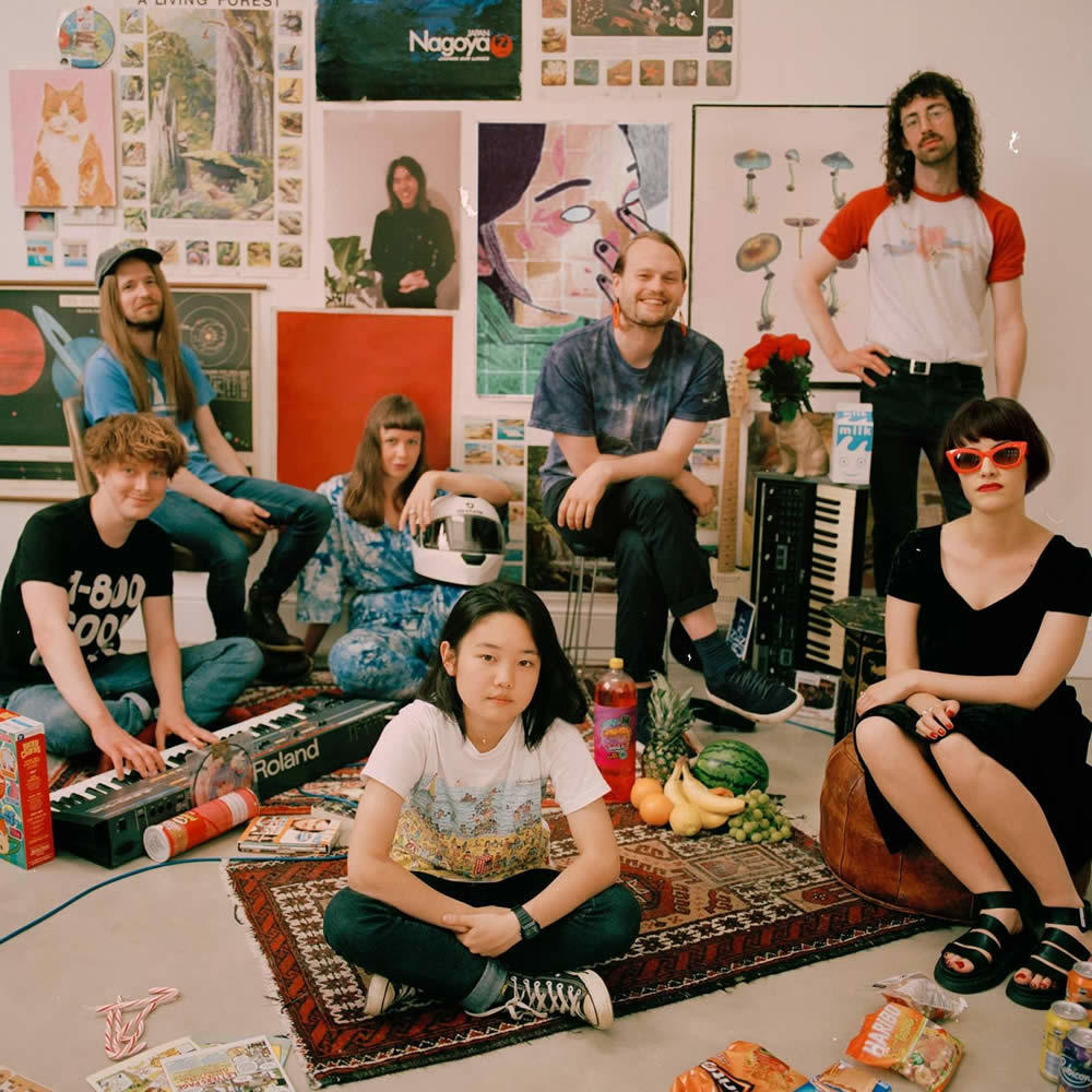 the band Superorganism