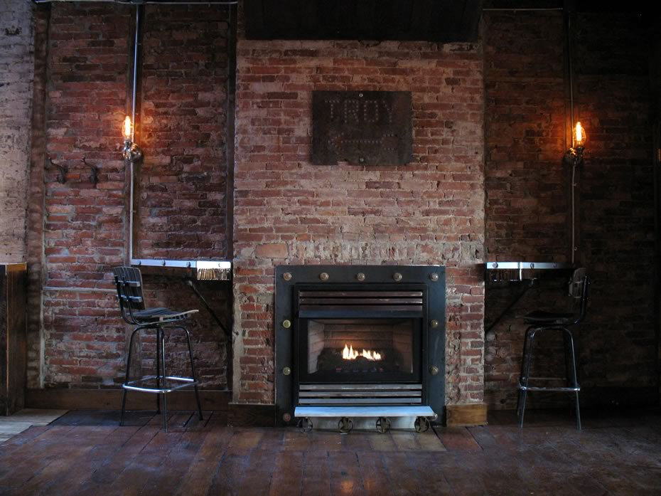 the confectionery fireplace