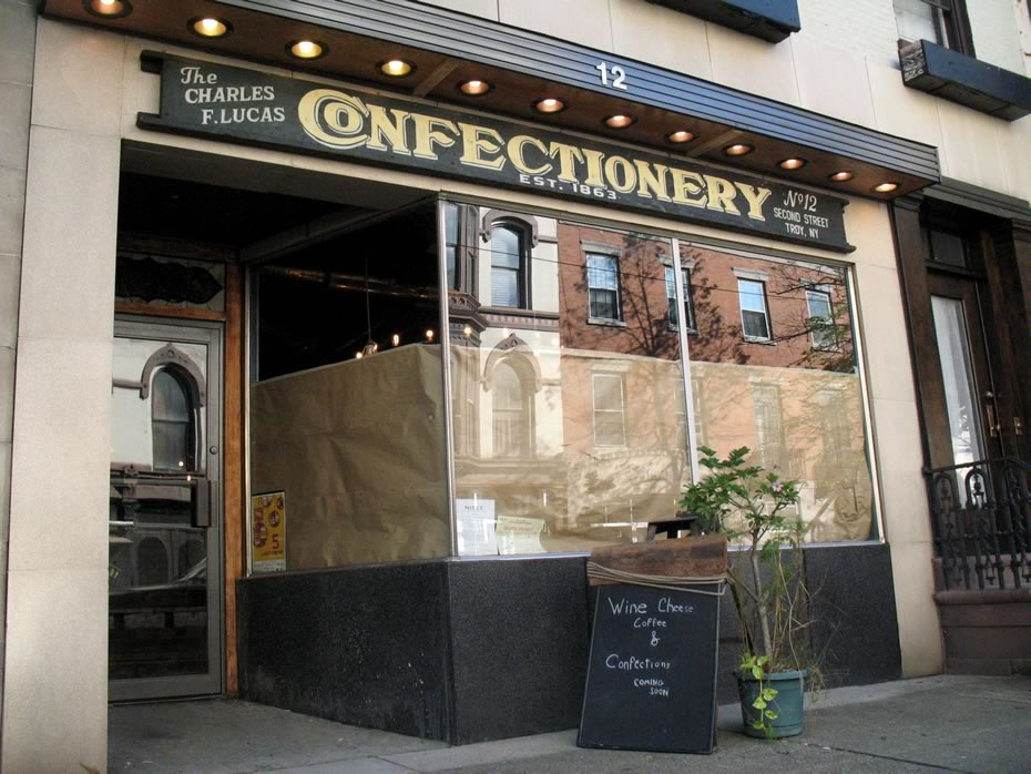 the confectionery exterior