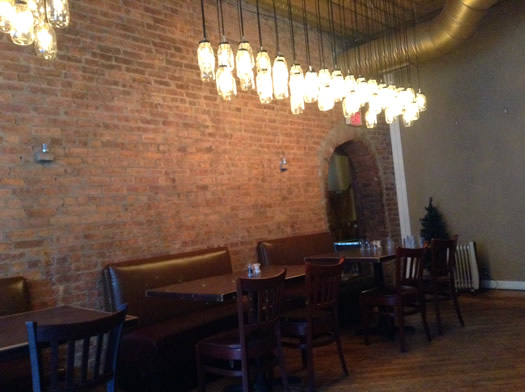 the hollow bar and kitchen interior lights