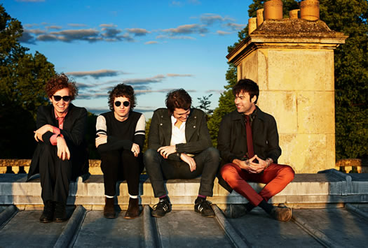 the kooks smiling