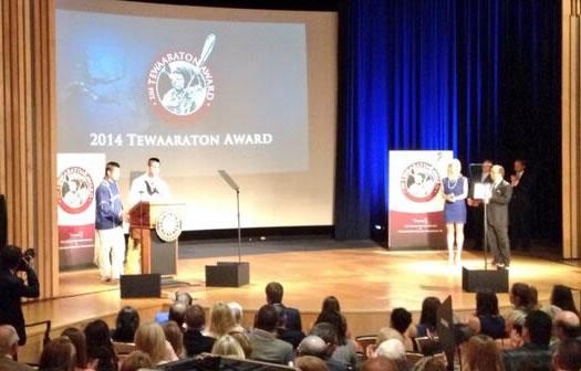 thompson brothers tewaaraton award