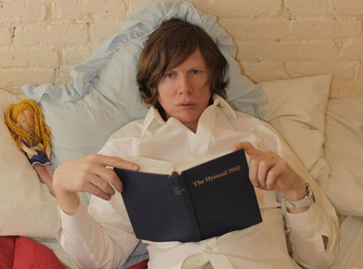 thurston moore with book