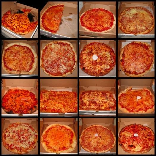 16 pizzas