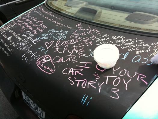 toy art car trunk
