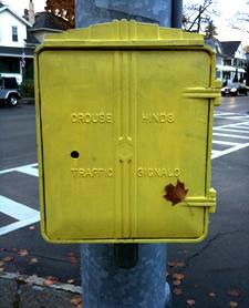 traffic signal box