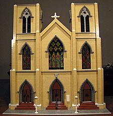 trinity church albany lego bill leue