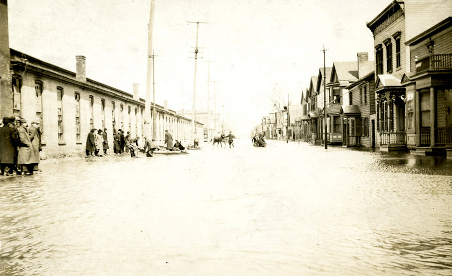 troy 1913 flood street