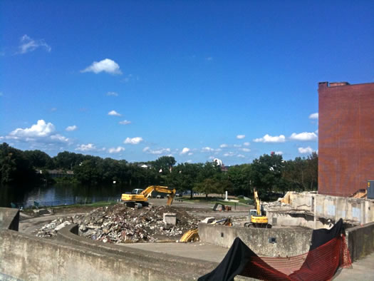 troy city hall rubble 2011-08-26