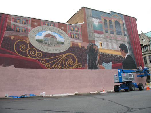 troy music hall mural 2