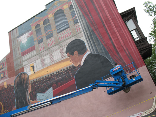 troy music hall mural 3