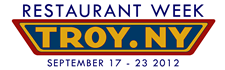 troy restaurant week 2012 logo