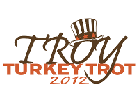 troy turkey trot 2012 logo