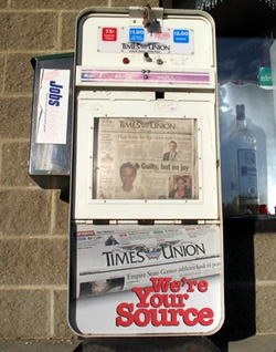 tu newspaper box