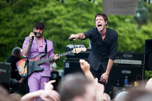 tulip fest 2010 OK Go