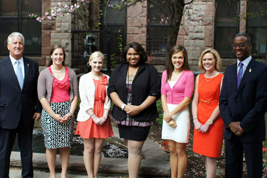 tulip queen finalists 2012
