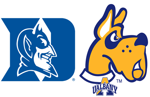 ualbany and duke sports logos
