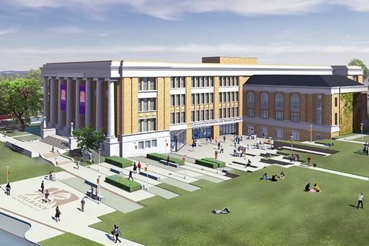 ualbany engineering college downtown campus rendering cropped