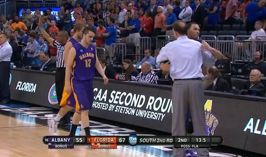 ualbany florida ncaa screengrab