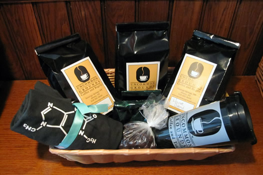 uncommon grounds giveaway basket