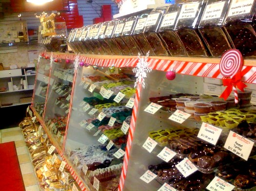 Uncle Sam's candy counter