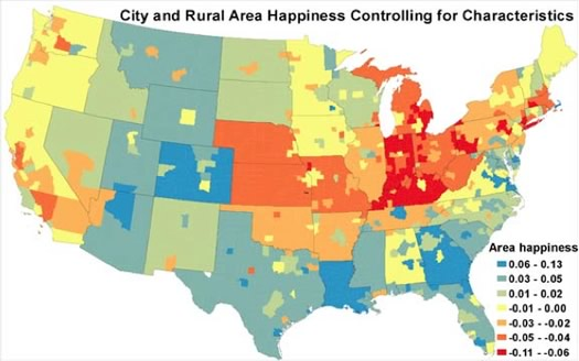 unhappy cities glaeser map