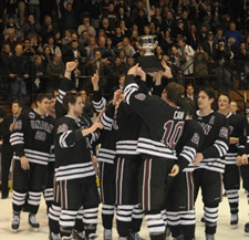 union college hockey trophy 2011