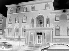 university club black and white inverted