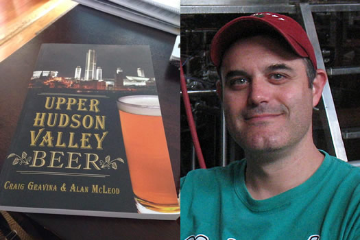 upper hudson valley beer cover and craig gravina
