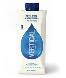 vertical water maple water package