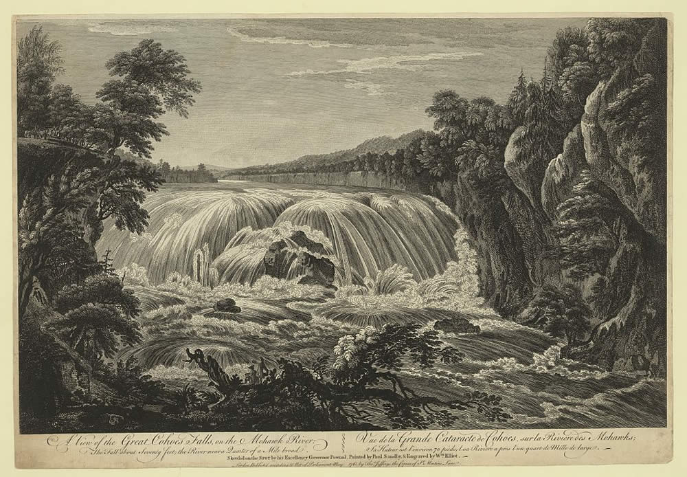 view of cohoes falls pownall sandby