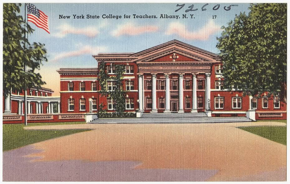 vintage_Albany_postcards_NYS_College_for_Teachers_UAlbany_downtown.jpg