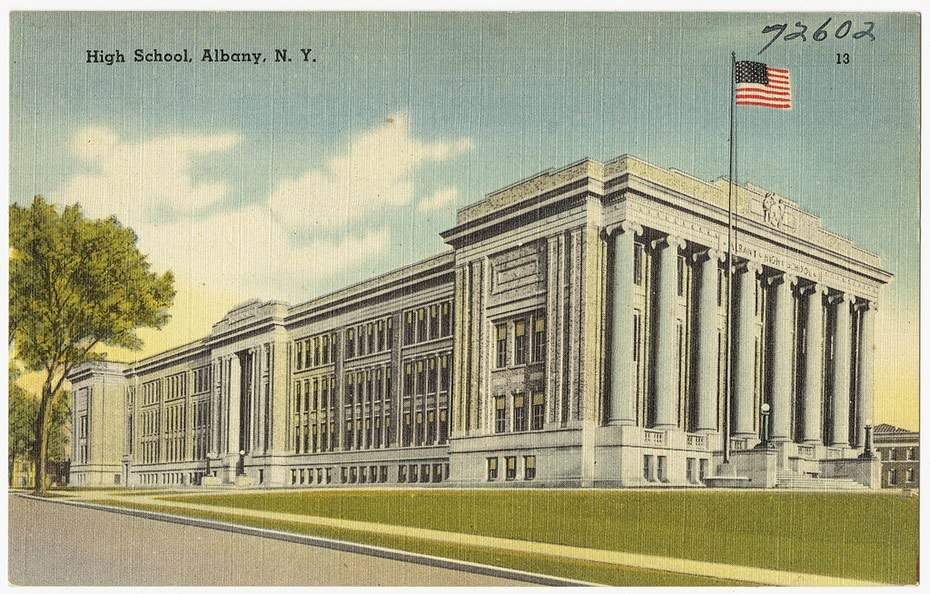 vintage_Albany_postcards_old_Albany_High_School.jpg