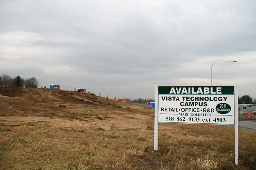 vista technology campus sign
